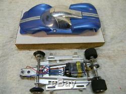 1/24 Scale Vintage Cox Super Lacucaracha Original Blue Complete Slot Car -rare