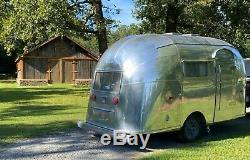 1957 Airstream BUBBLE! Super rare vintage travel trailer Camper Glamper