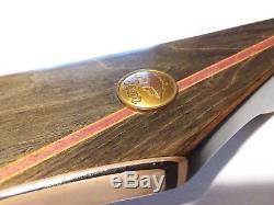 1973 Vintage Fred Bear Super Kodiak 60 Recurve Bow RARE