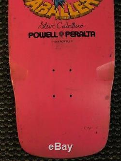 1981 Powell Peralta Steve Caballero Skateboard Super Rare