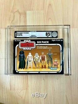 1981 Vintage Kenner Esb Six-pack Afa 85 Nm+! Super Rare Misb! Holy Grail