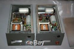 2 SUPER RARE VINTAGE Tube EAG 022 Microphone Preamp TELEFUNKEN TRANSFORMERS 1960