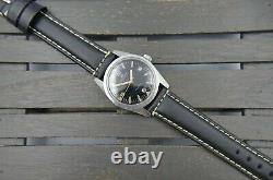 60's vintage watch mens diver super compressor Bucherer Automatic ETA 2472 rare