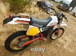 84 CAN-AM 406 ASE Super Rare -1of1- Vintage ENDURO MX MotoCross Championship #1