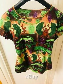 90s Rare Sheer Mesh Top T-Shirt Vintage Jean Paul Gaultier S Netaporter