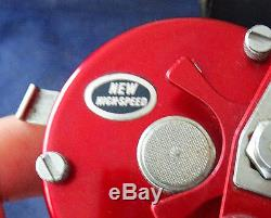 A Super Condition Rare Vintage 1979 Red Abu Ambassadeur 6500 Multiplier Reel