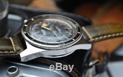 ACCURIST SUPER 400 CHRONOGRAPH LANDERON 51 GENTS VINTAGE WATCH c1960-RARE