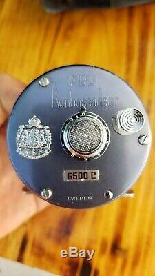 Abu garcia ambassadeur 6500 C Vintage BAIT CASTER Rare super clean with BOX 730601