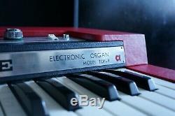 Ace Tone Top-9 Rare Vintage 1969 Combo Organ 240V