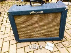 Ampeg Super Echo Twin ET 2 guitar amplifier 1963 Vintage rare original 2x12 comb