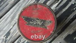 Antique Vintage 20s 1930' s Ford Tire Repair kit tin accessories Model t rare
