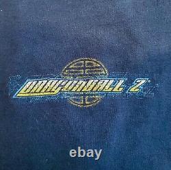 Authentic Vintage 90's Dragon Ball Z Blue Shirt 2XL Super Saiyan 3 Goku RARE