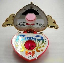 Bandai Sailor Moon SuperS Crisis Moon Compact from Japan 1995 Vintage Toy Rare
