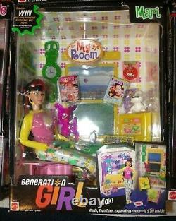 Barbie GENERATION GIRL MARI MY ROOM DOLL 2000 Super RARE HTF