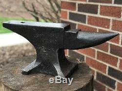 Beautiful Rare Vintage 78 Lb Blacksmith Anvil Hay Budden Brooklyn, Ny Super Anvil