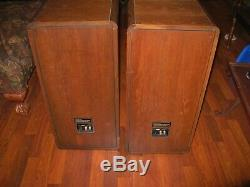 Beautiful pair of Vintage Koss CM/1020 Mass Aligned Speakers SUPER RARE