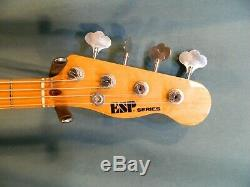 C. 1980 ESP Vintage Style P Bass, Super Rare! Made in Japan, Ships Worldwide