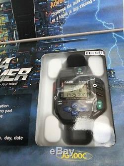 CASIO JG-100C Infra Beamer Remote Watch Super Rare Vintage Japanese Watch