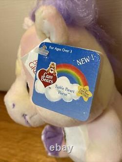 Care Bear Cousins Noble Heart Horse 8 NWT SUPER RARE Tie Dye Plush 2004 Vintage