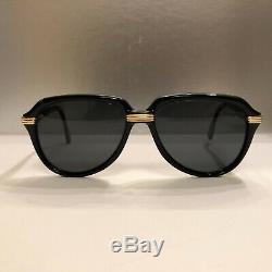 Cartier Vitesse Vintage sunglasses 100%Auth Fine condition! Super Rare