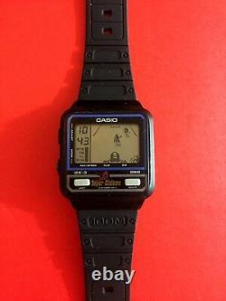 Casio Game Watch GS-3 Super Slalomer Rare Vintage