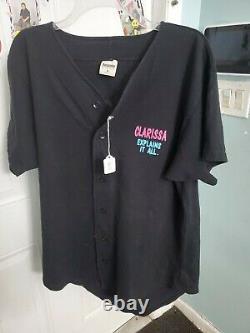 Clarissa Explains It All Vintage Universal Studios Shirt nickelodeon rare 90's