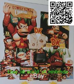 Donkey Kong Country Vintage 90s Super Nintendo T-Shirt L/XL Rare Promo Display