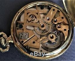 Dudley Masonic Watch Model#2 Super Rare Masonic Dial Great Condition