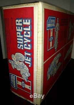 Evel Knievel Super Jet Cycle Brand New Sealed Vintage 1976 Ideal Super Rare