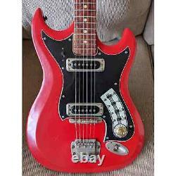 Hagstrom II NO RESERVE Vintage 1960s SUPER RARE Cherry Red