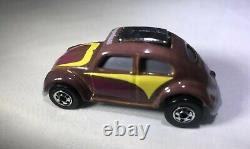 Hot Wheels Vw Beetle Bug Black Wall Color Changing Super Rare Vhtf Vintage