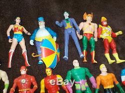 Huge lot of Vintage Kenner DC Super Powers x27 figures some rare estate find