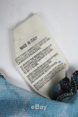 JEAN PAUL GAULTIER Cyberdots Mesh Shirt, AW1995, Size S RARE Vintage