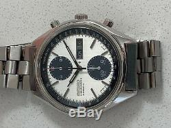 Mint Condition Super Rare Vintage Seiko 6138-8020'panda' Chronograph