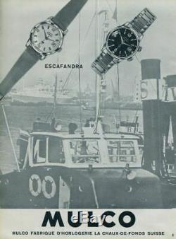 Mulco Escafandra super-compressor 1962 vintage diver plongeuse rare