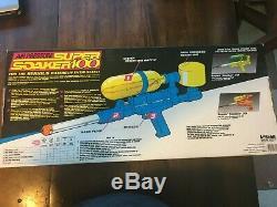 NIB Vintage 1990 Larami Super Soaker 100 Water Squirt Toy Gun RARE Collectible