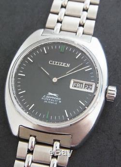 Nice & Rare Vintage Citizen Leopard Super Beat 8 Automatic 26 Jewels Japan Watch