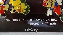 Nintendo Vintage1988 SUPER MARIO BROS. Retail Pin Card Complete Very Rare Zelda