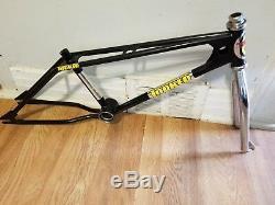 Old School Bmx 1981 20 Black Torker Frame Chrome Fork Og Super Rare Vintage