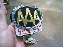 Original 1950s rare Accessory vintage License plate topper scta GM Ford Chevy