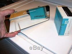 Original rare GM CHEVROLET accessory Comb pocket Visor vanity Mirror vintage 50s