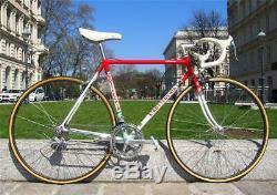 RARE VGC Vintage BOTTECCHIA Columbus SL Road bike Shimano DURA ACE 7400 51cm