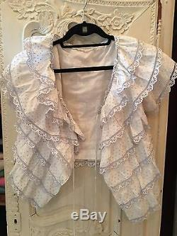 RARE VINTAGE Christian Dior lace blouse