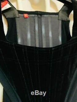 RARE Vintage 1991-2 Vivienne Westwood Iconic Velvet Corset