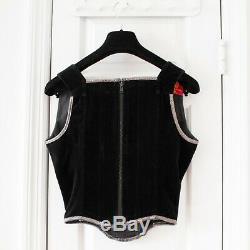 RARE Vivienne Westwood Vintage Black Velvet Corset