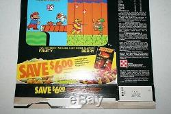 Ralston Nintendo Cereal System Super Mario/Zelda Vintage 1988 Cereal Box Rare