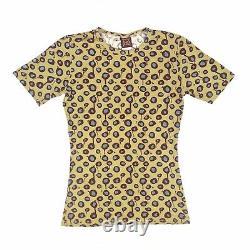 Rare 90s Vintage Jean Paul Gaultier Yellow Dot Top, Size S/M. VGC
