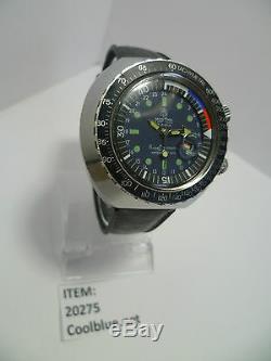 Rare Huge Mortima Super Datomatic Compressor Vintage Diver Style Watch