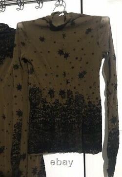 Rare Jean Paul Gaultier Mesh Top Skirt Vintage S Fuzzi