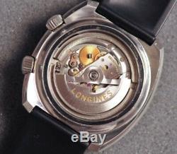 Rare Longines diver Admiral Super Compressor 43mm Vintage Automatic